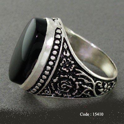 35 Agate Noir Onyx 15410