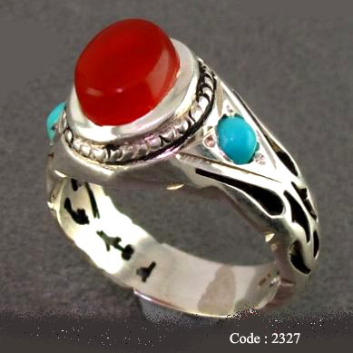 39 Agate Turquoise 2327